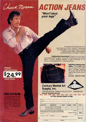 ACTION JEANS!